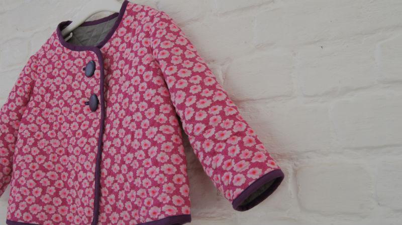 lison veste matelass e pour fillette cool r publique du. Black Bedroom Furniture Sets. Home Design Ideas
