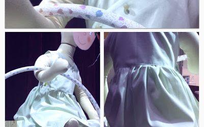 Robe anti-moustiques pour fillette! Si Si!